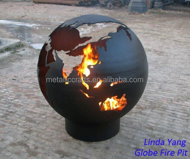 Third Rock World Globe Fire Pit - Third Rock World Globe Fire Pit - Buy Fire Pit,Outdoor Fire Pit,Globe