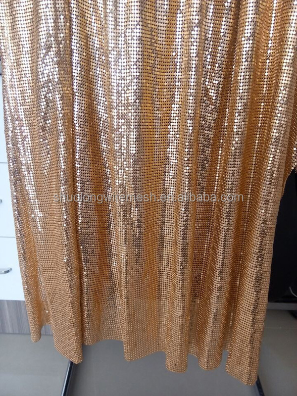 detail decoration chain hot sell ball curtains curtain for metal product