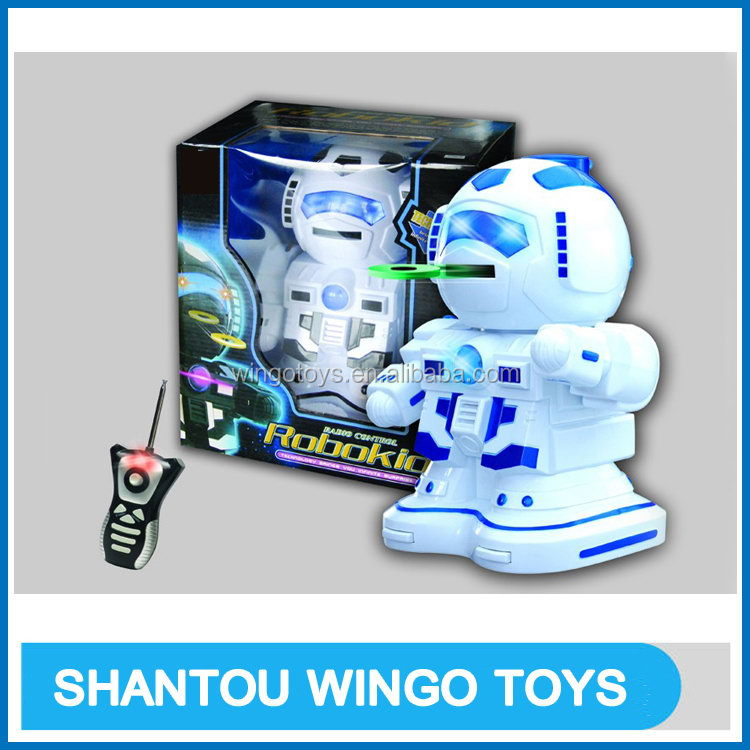 Fashion new professional remote control plastic toy robot