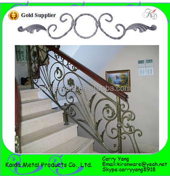Beautiful Wrought Iron Scroll Decorations For Railings