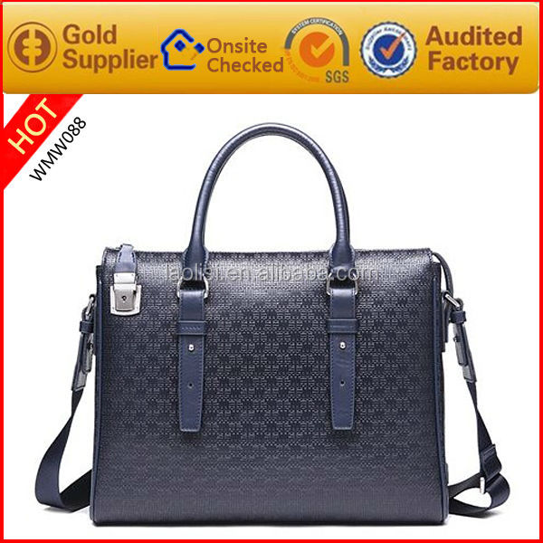 Luxurious decent design Name brand hand made tote bag leather shoulder bag