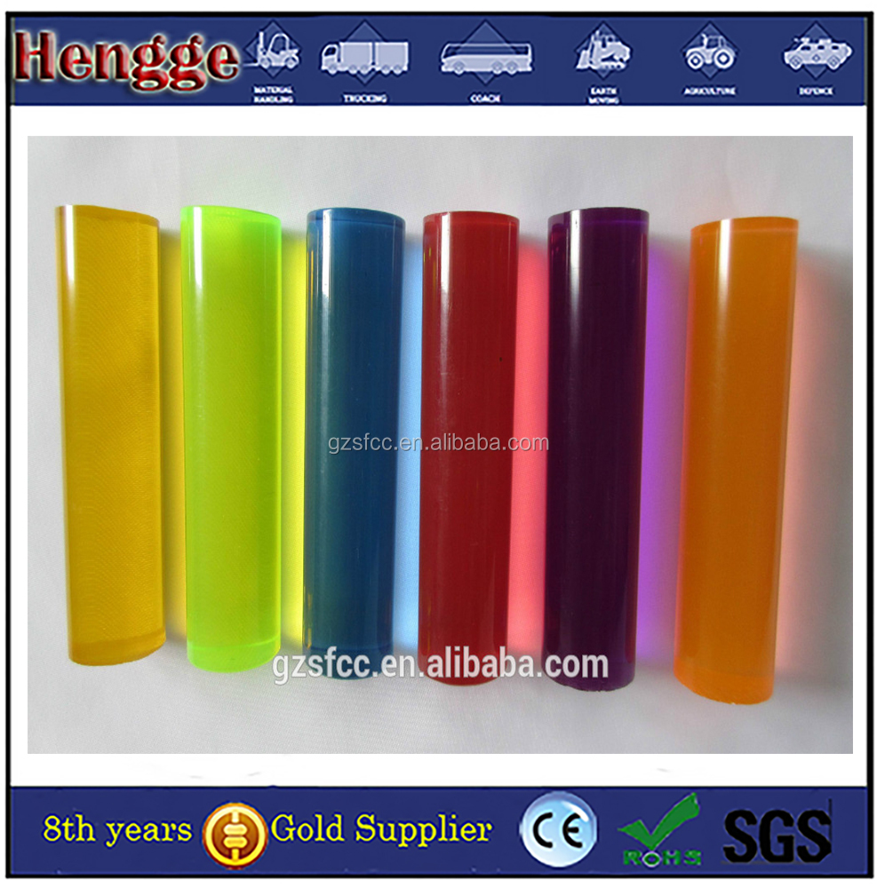 Mitsubishi Quantity Solid Colored Cast Acrylic Rod for LED Lighting