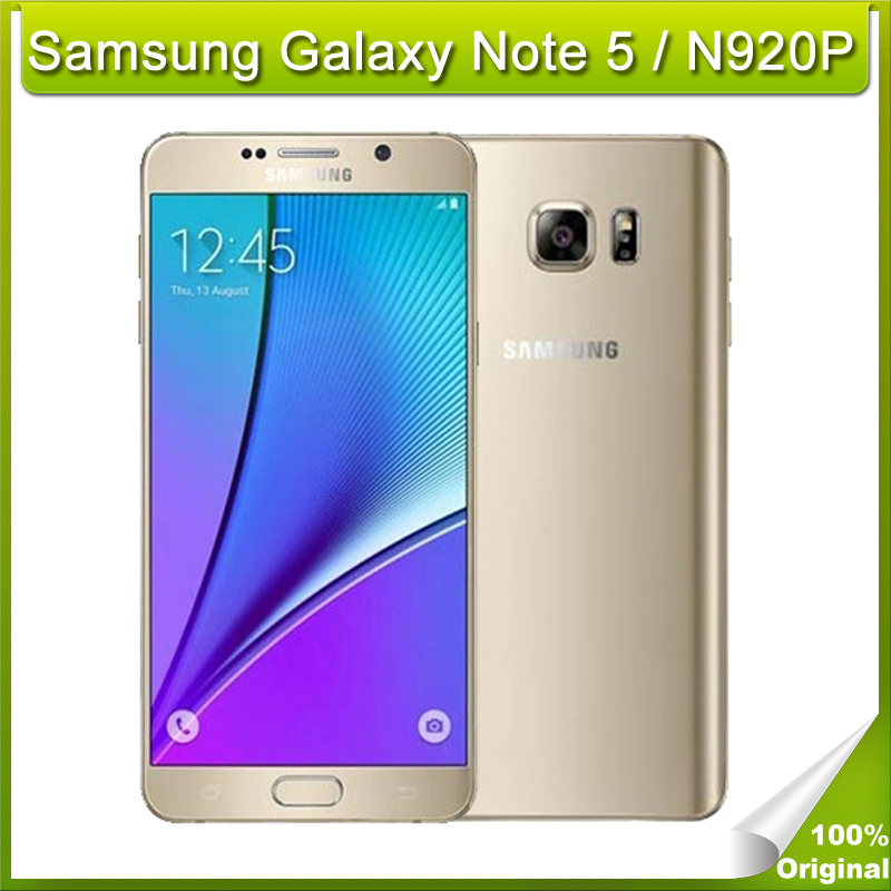 Unlocked Samsung Galaxy Note 5 / N920P(Sprint) Octa Core 32GB ROM LTE 16MP  5 7 inch SmartPhone Dual-band WiFi, NFC