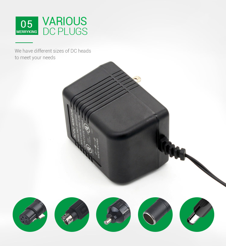 UL linear power supply 24vac 1a ac ac adapter for router,modem