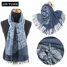 high quality russian shawl cashmere reversible scarf