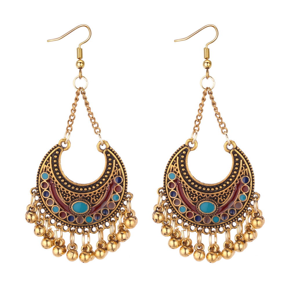 Zinc Alloy personalized vintage <strong>earring</strong> <strong>hooks</strong> <strong>gold</strong> plated for women