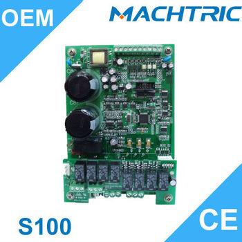 S100 single phase to three phase converter ac motor drive for Convert 3 phase motor to single phase