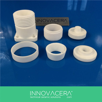 Macor Machinable Glass Ceramic Insulator Ring For Medical  Applications/innovacera - Buy Macor Rings,Ceramic Insulator Ring,Macor  Insulator Ring