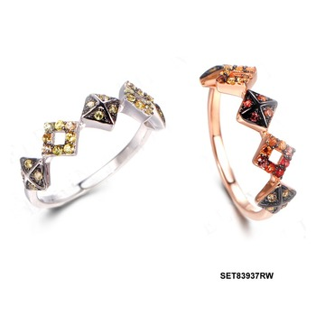 Simple fashion the corners of the shape design of irregular jewelry ring