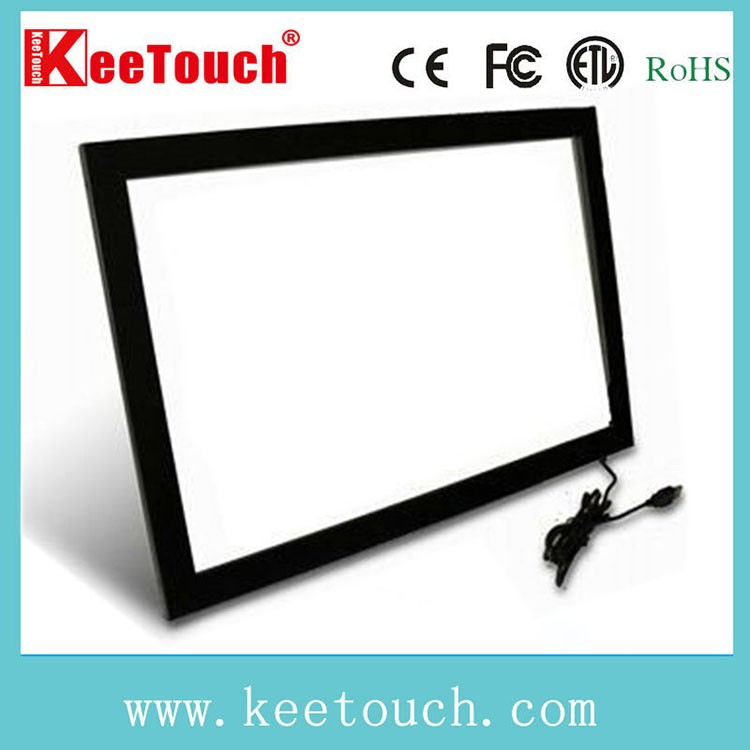 "For Kiosk/TV/Table 15"" waterproof Infrared multi Touch Screen, Ir touch panel"