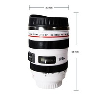 Zogift 2019 Hot Sale Camera Mug Lens Coffee Mug /cup With Handle