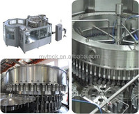 Guangzhou PET water bottle filling machinery 3 in 1 filling monobloc and whole line