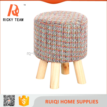 Modern Style Handmade Hot Ing Weaving Fabric Pine Wood Kid Chair Outside Furniture