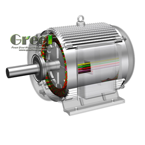 Alternator 40kw Three Phase Synchronous Generator ac low speed Permanent Magnet Generator