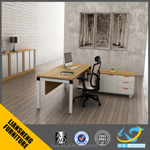 modern office manager office table corner table design executive office furniture with melamine board