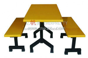 Dinning hall furniture/Dinning table & chair/School canteen desk and chair