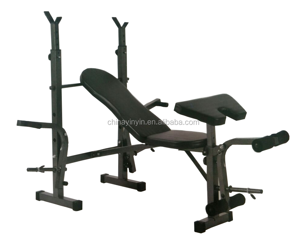 2017 fitness equipment multifunction weight bench folding weight Bench for home use