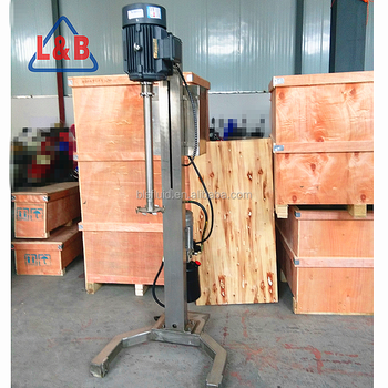 High Speed Lifting Industrial Steel Pigment Mixing Machine