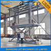 3T+3T 3M Double Deck Hydraulic Car Lift for Basement Home Garage 2 Cars Parking Lift
