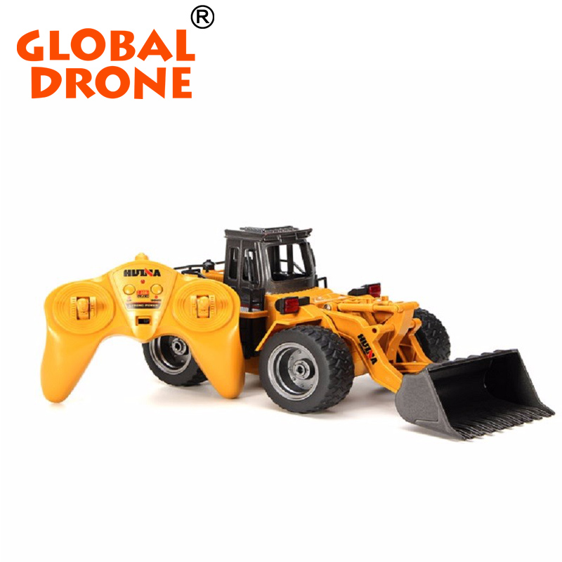 HuiNa Toys 1520 2.4GHz 6CH RC Alloy Truck Construction Vehicle toy excavator car