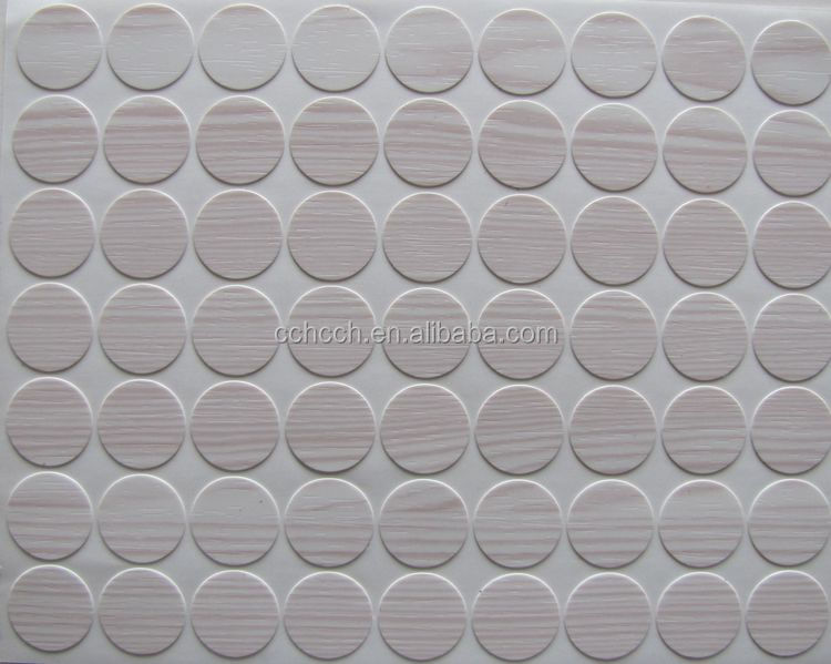 Plastic Hole Covers,Screw Sticker Covers,Pvc Screw Cover - Buy ...
