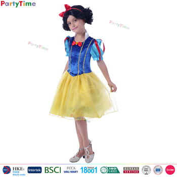 Hot Sale Kids Halloween Costume Snow White Princess Anime Cosplay Queen  Snow White Costume For Baby Girls   Buy Snow White Costume,Snow Queen Snow  ...