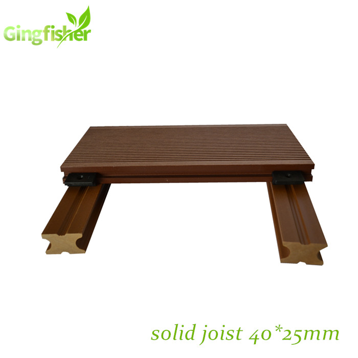 Composite Decking Structure Solid Joist Wpc40s25 Span 300-350mm - Buy Solid  Joist,Decking Joist,Decking Structure Product on Alibaba com