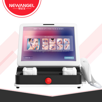 Newangel 3D hifu beauty machine for face and body skin care