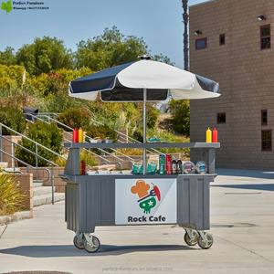 New design simple hot dog cart & mobile hot dog for sale