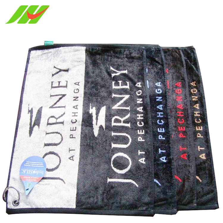 Name Brand Personalized Plain golf towel printed microfiber