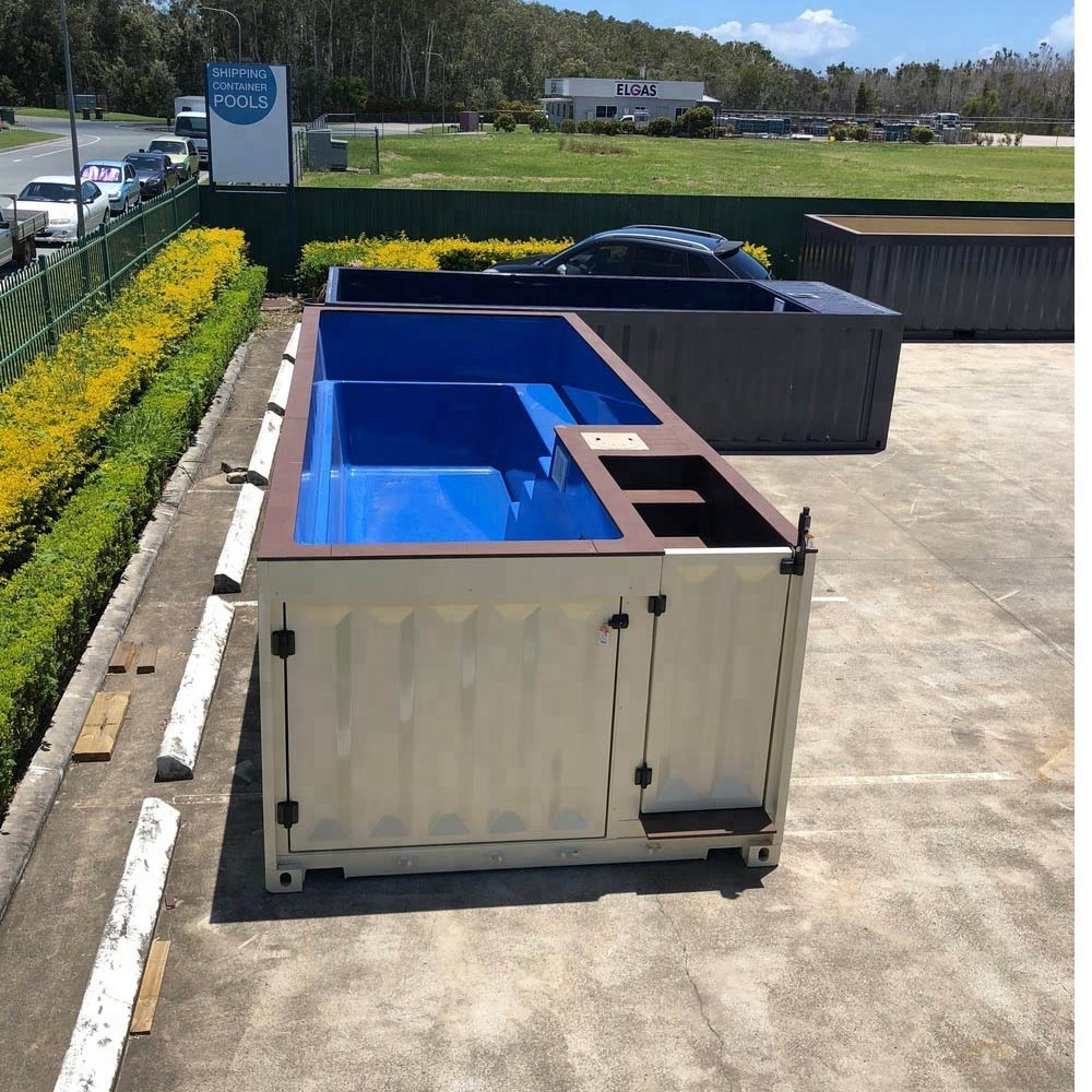 45 Ft Fiberglass Shipping Container Swimming Pool - Buy Swimming Pool  Container,Container Pool Swimming,Fiberglass Swimming Pool Product on ...