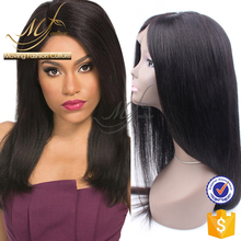 Factory custom human hair topper wig
