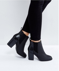 50137c7c91a OLUX433 2017 New Design Sexy Women Black Ankle Boots Ladies High Heel  Winter Boots