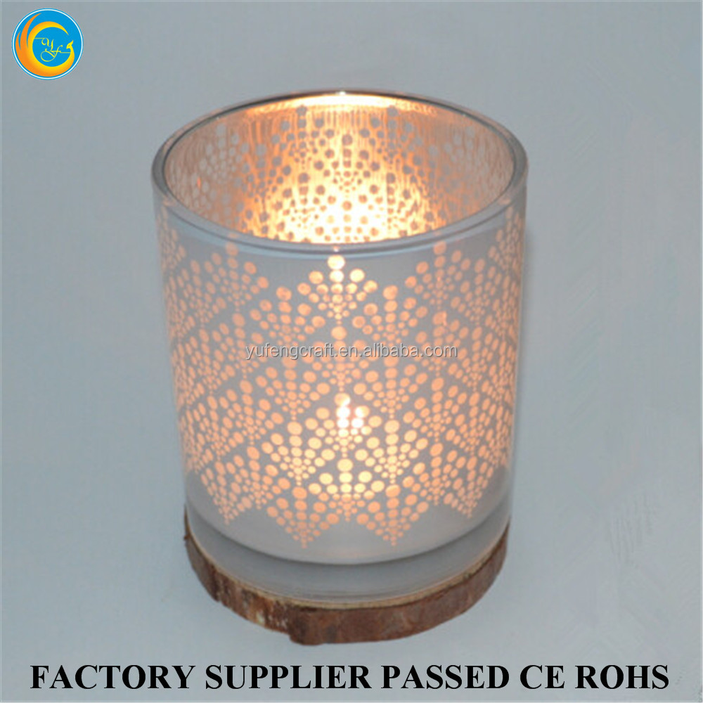 10 OZ glass tealight turkish lamps for candle making