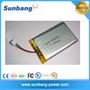 502035 3.7v 300mah li-ion polymer battery for PDA, DVD, DV, electric toothbrushes, electric shavers