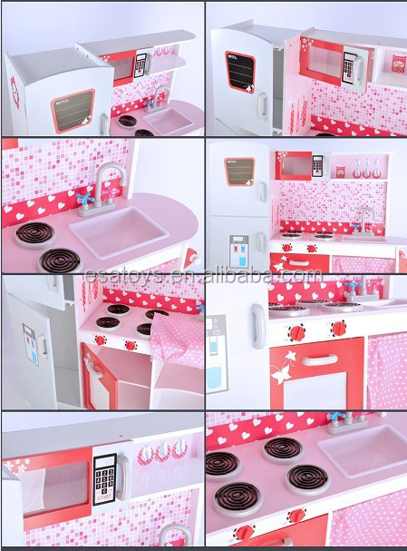2015 stock new pretend kitchen toy set for kids popular for Kids kitchen set sale
