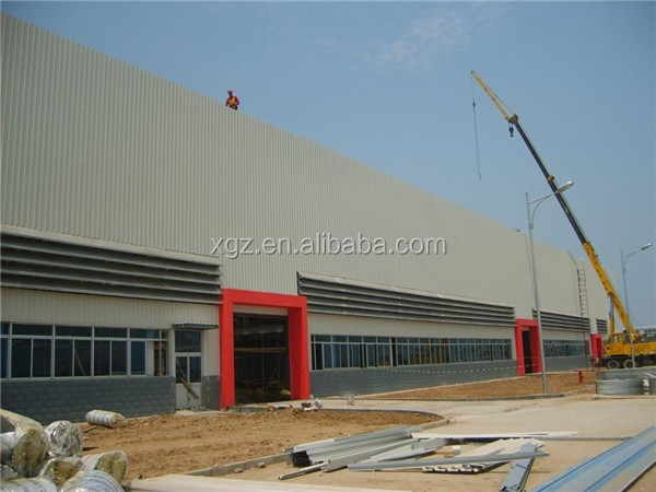 with mezzanin durable steel structure frame