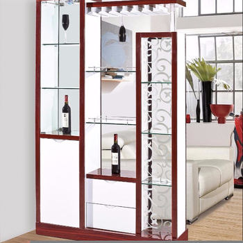 2018 Latest New Arrival Home Use Display Wine Cabinet Whiskey Shelf Rack Bar Counter For Living