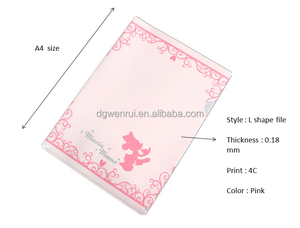New products 2016 PP file folders for a4 paper