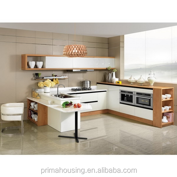 Modular Kitchen For U Shape, Modular Kitchen For U Shape Suppliers And  Manufacturers At Alibaba.com