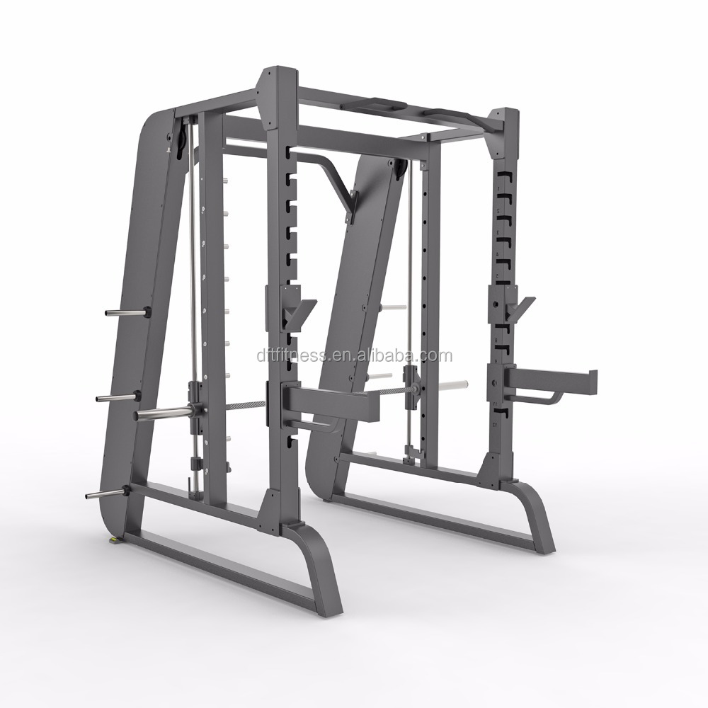 Bench Type Gym /dft-684 smith machines with power cage / multi-purpose gym bench/sports fitness