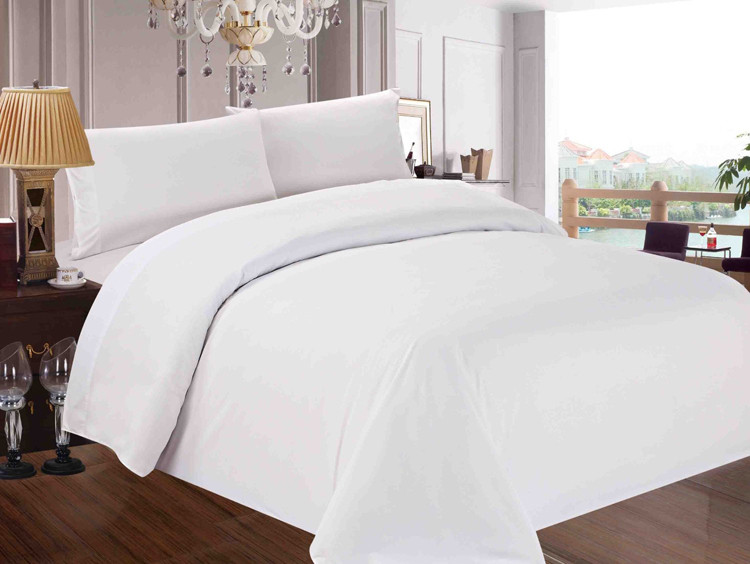 Luxury White Bed Linen Part - 48: 100% Cotton White Luxury Hotel Bed Linen / Bedding Set / Bed Sheets From  Guangzhou