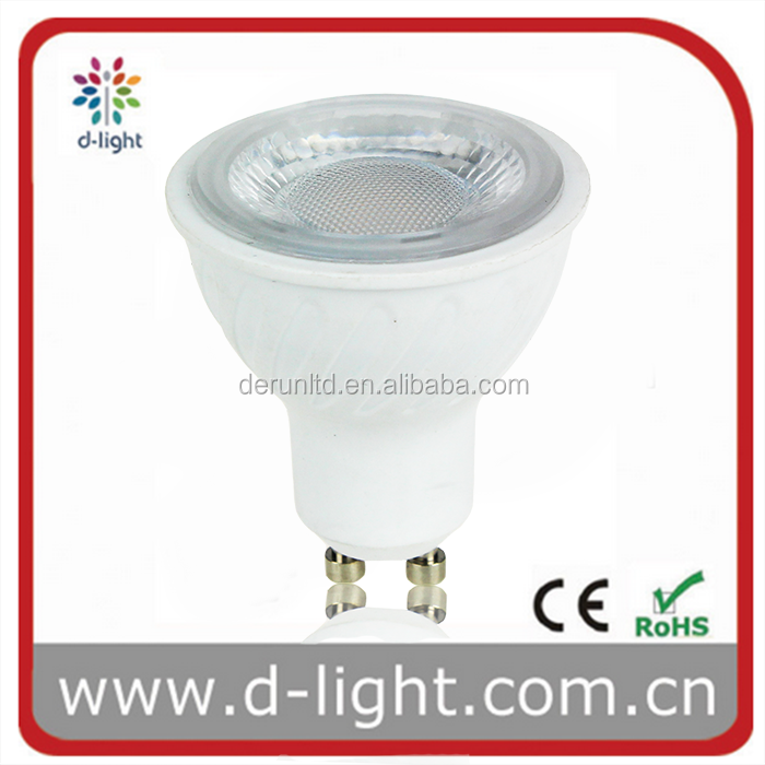 Indoor Lighting Energy Saving 7W GU10 LED 50W Halogen Replacement