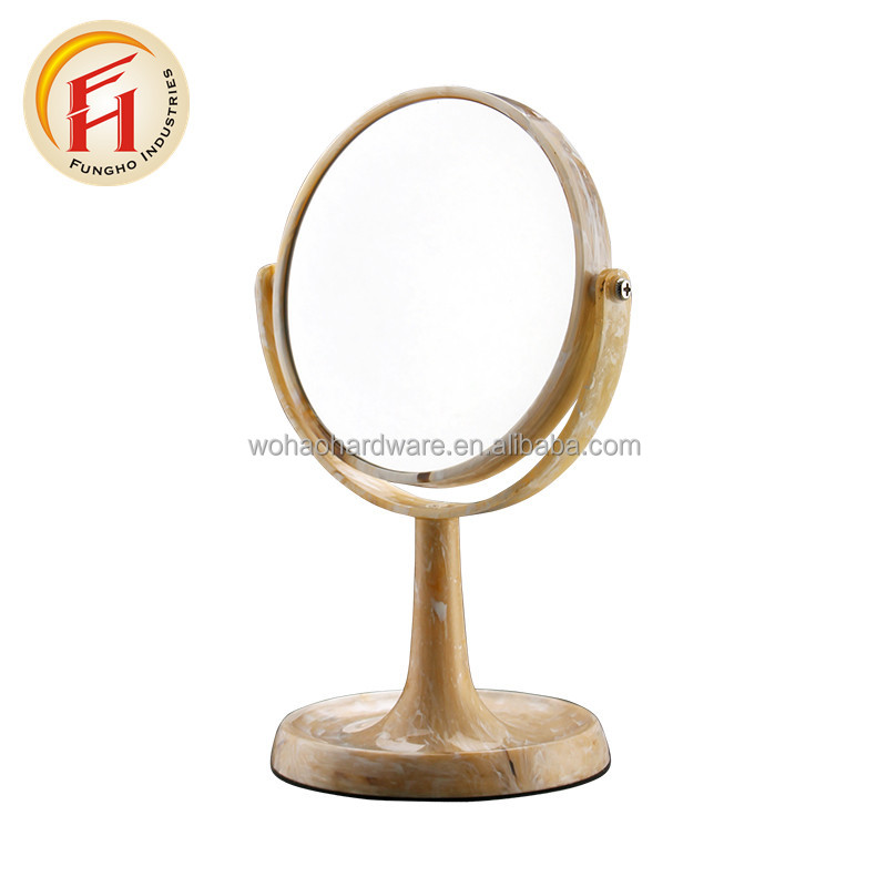 Wholesale Foldable Double Sides Square Plastic Mackup Mirror for Cosmetic with nice price
