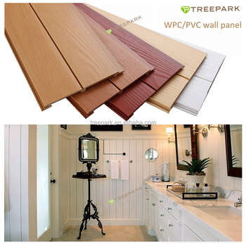 Long Lifespan Wood Plastic Composite Shower Ceiling And Kitchen Ceiling  Panel Material