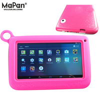 Top sale Christmas gift kids 7 inch study tablet pc Android tablet with plastic proof case