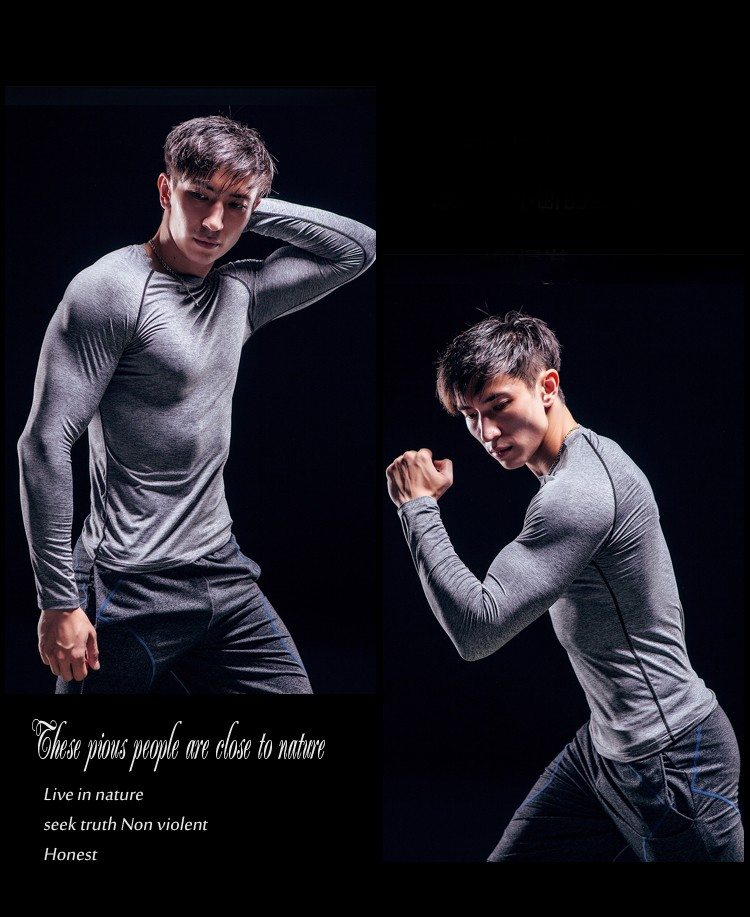 Seamless private label fitness wear gym t shirt