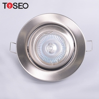 MR16 GU10 die casting aluminium cut 85mm ceiling down lighting fixture covers