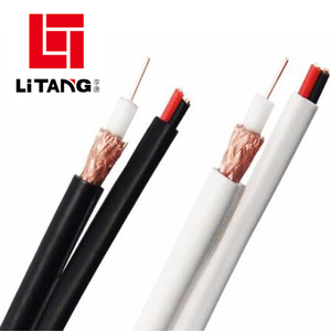 Waterproof Security Rg6 Cctv Cable Rj6+2c Coaxial Cable