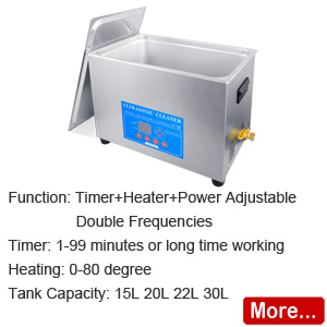 KHTDS Double Frequency Ultrasonic Cleaner